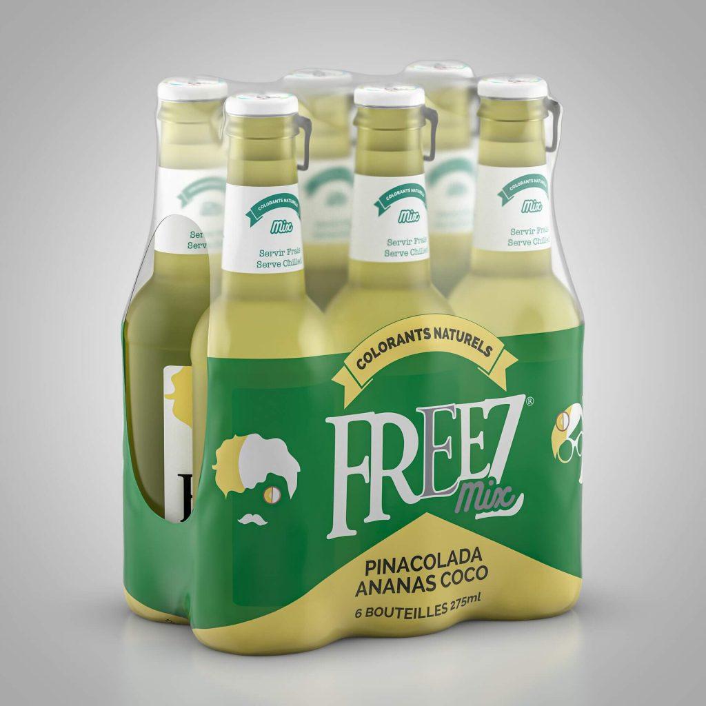 WeLoveDrinks officiele dealer van Freezmix Nederland alle smaken