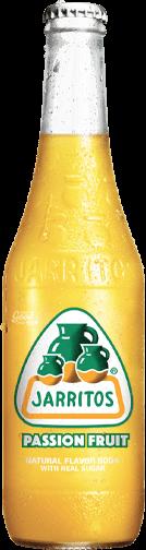 Jarrito's Passion-fruit frisdrank smaak
