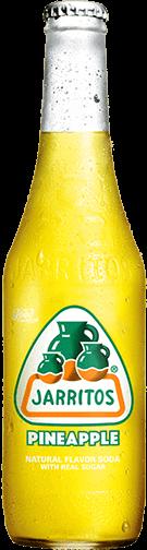 Jarrito's Pineapple frisdrank smaak