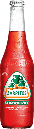 Jarrito's Strawberry frisdrank smaak